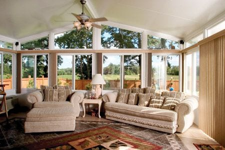 Custom Site Built Sunrooms Company South Prairie WA